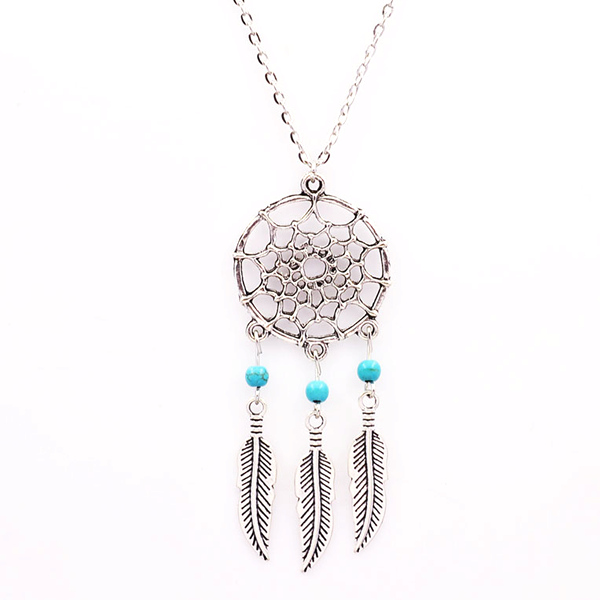 Dream Catcher Necklace - Florence Scovel - 1