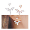 Exquisite Leaf Stud Earrings - Florence Scovel - 3