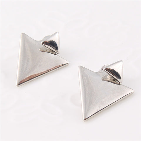 Double Triangle Stud Earring - Florence Scovel - 1