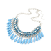 Fringe Drop Statement Necklace - Florence Scovel - 2