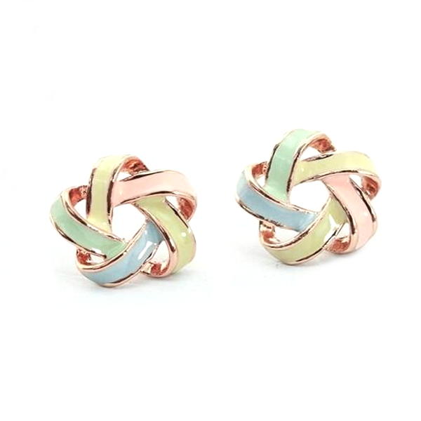 Novel Color Strip Earring - Florence Scovel - 1