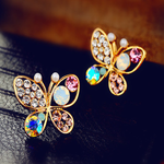 Colorful Butterfly Earrings - Florence Scovel - 2