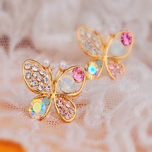 Colorful Butterfly Earrings - Florence Scovel - 3