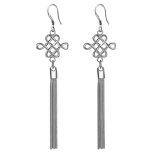 Classic Silver Tassel Earrings - Florence Scovel - 1