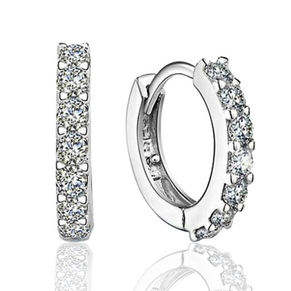 Silver Hoop Earrings - Florence Scovel - 1