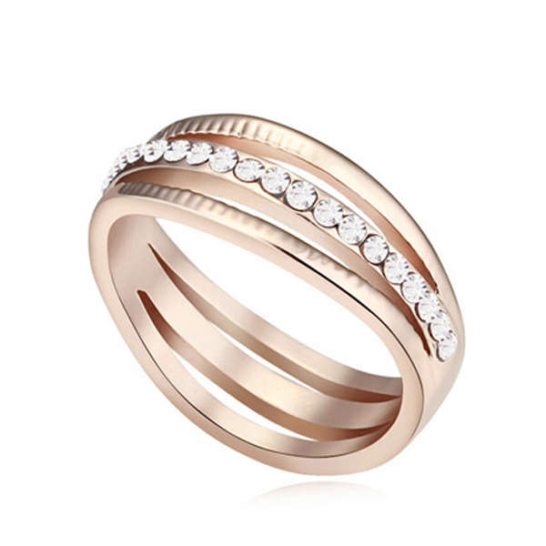 Elegant Love Eternity Ring - Florence Scovel