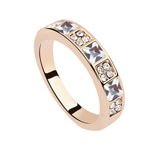Princess Cut Eternity Band - Florence Scovel