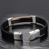 Evening Lights Men's Stainless Steel Bracelet - Florence Scovel - 3