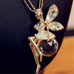 Angel Wing Fairy Necklace - Florence Scovel - 4