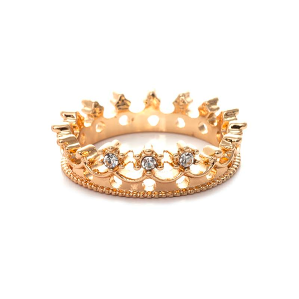 Flash Drill Crown Ring - Florence Scovel