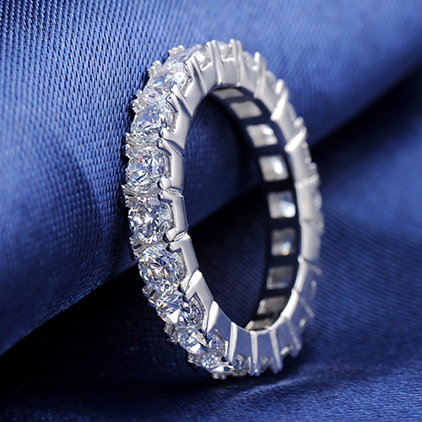 Luxury Crystal Eternity Ring - Florence Scovel - 2