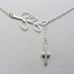 Leaf Cross Pendant - Florence Scovel - 2
