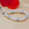 Silver and Pearl Bracelet - Florence Scovel - 3