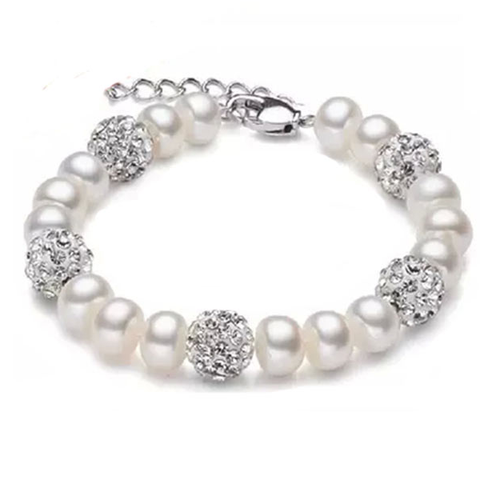 Silver and Pearl Bracelet - Florence Scovel - 1