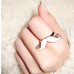 Mustache Ring - Florence Scovel - 5