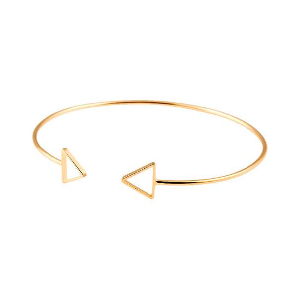 Triangle Cuff Bangle - Florence Scovel - 1