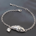 Silver Feather  Bracelet - Florence Scovel - 2