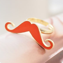 Mustache Ring - Florence Scovel - 2