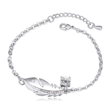Silver Feather  Bracelet - Florence Scovel - 1