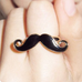Mustache Ring - Florence Scovel - 1