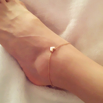 Gold Heart Anklet - Florence Scovel - 1