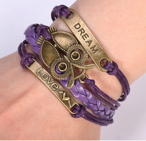 Dream Owl Love Bracelet - Florence Scovel