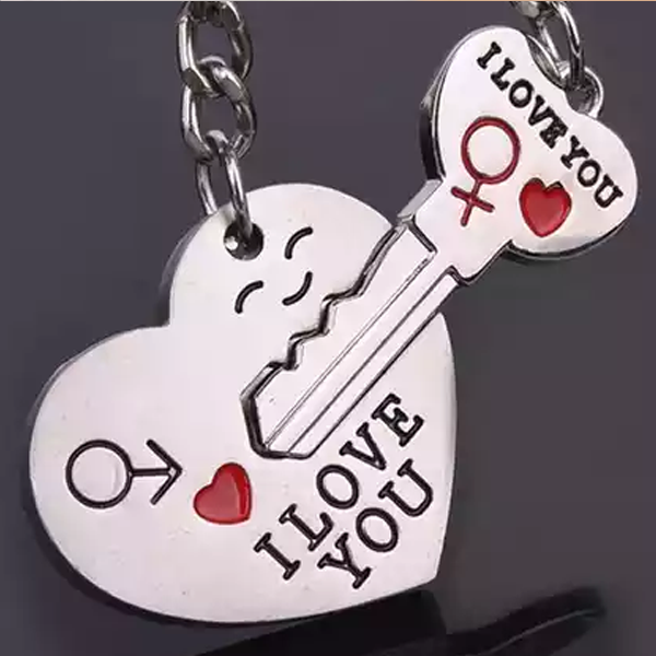Couple's Keychain Set - Florence Scovel