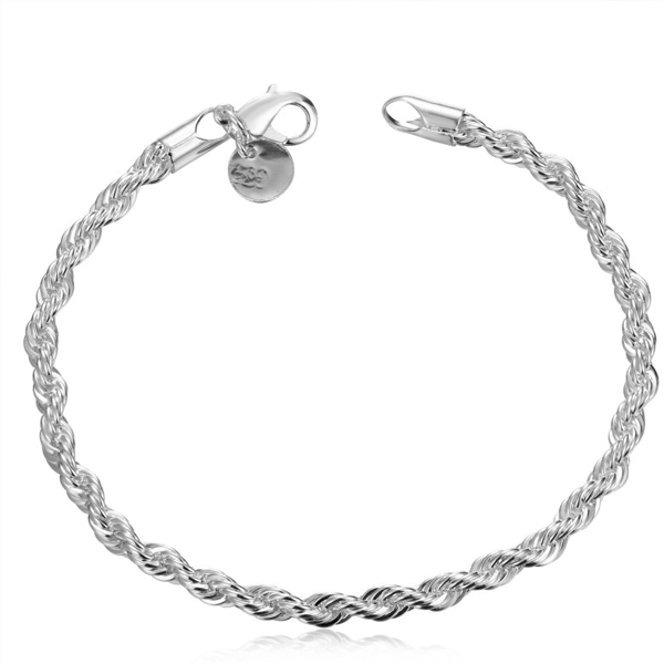 Twisted Singapore Chain Bracelet - Florence Scovel - 1