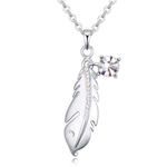 Silver Feather Pendant - Florence Scovel - 1