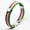 Team Hungary Leather Unisex Bracelet - Florence Scovel - 2