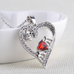 Red Heart Mom Pendant - Florence Scovel - 2