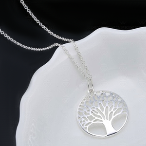 Silver Tree of Life Pendant - Florence Scovel - 2