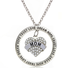 Love Trust Mom Engraved Pendant - Florence Scovel - 2