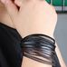Rustic Leather Wrap Bracelet - Florence Scovel - 5