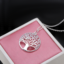 Silver Tree of Life Pendant - Florence Scovel - 3