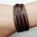 Rustic Leather Wrap Bracelet - Florence Scovel - 7