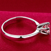 Silver Plated Crystal Ring - Florence Scovel - 6