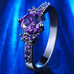 Purple Amethyst Ring - Florence Scovel - 3