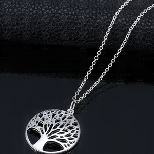 Silver Tree of Life Pendant - Florence Scovel - 4