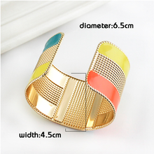 Color  Block Bangle - Florence Scovel - 2