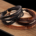 Rustic Leather Wrap Bracelet - Florence Scovel - 2