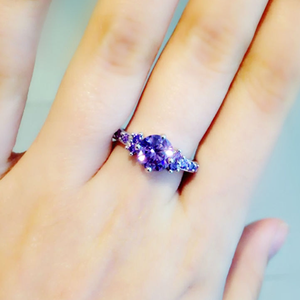 Purple Amethyst Ring - Florence Scovel - 5