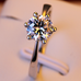 Silver Plated Crystal Ring - Florence Scovel - 2