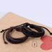 Rustic Leather Wrap Bracelet - Florence Scovel - 8