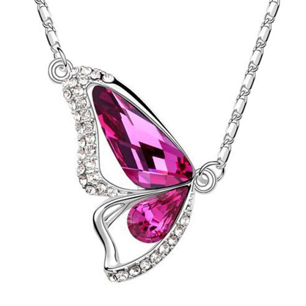 Radiant Wing Florence Crystal Pendant - Florence Scovel - 1