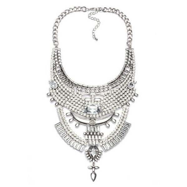 Chenoa White Dove Tribal Necklace - Florence Scovel