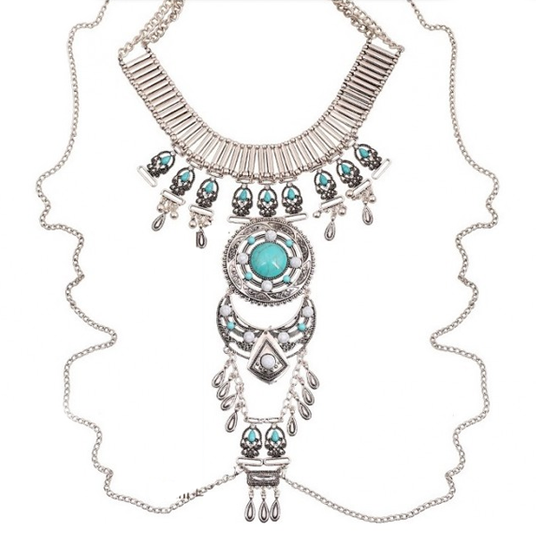 Izta Dream Tribal Necklace - Florence Scovel - 1