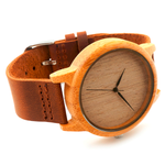 Natural Brown Wooden Watch - Florence Scovel - 5