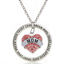 Love Trust Mom Engraved Pendant - Florence Scovel - 1