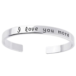 18k Gold Plated - I Love You More Bangle - Florence Scovel - 10